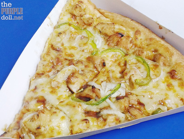 Chicken BBQ Pizza at SnR (Slice P99, Whole P549)