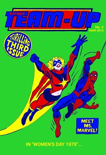 spidey team-up no.3 cover