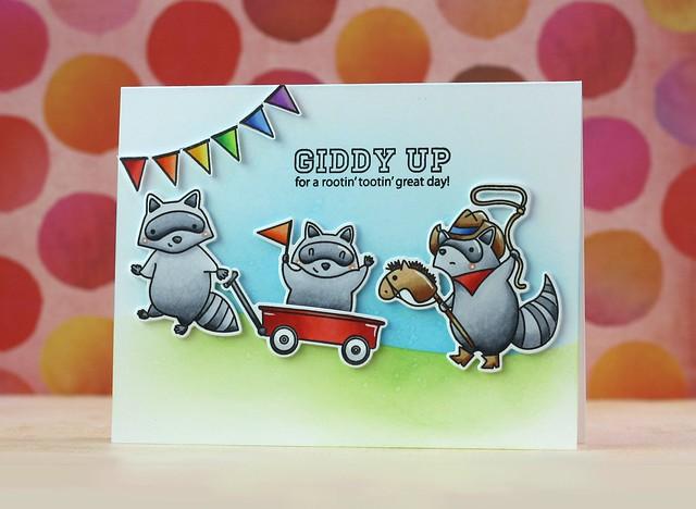 Mama Elephant-Rowdy Raccoons