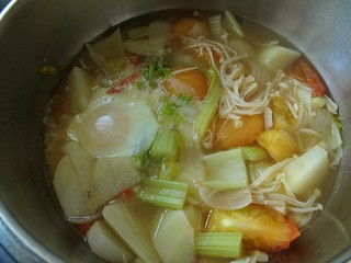 014 Meatless soup