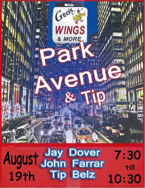 Park Avenue & Tip 8-19-16