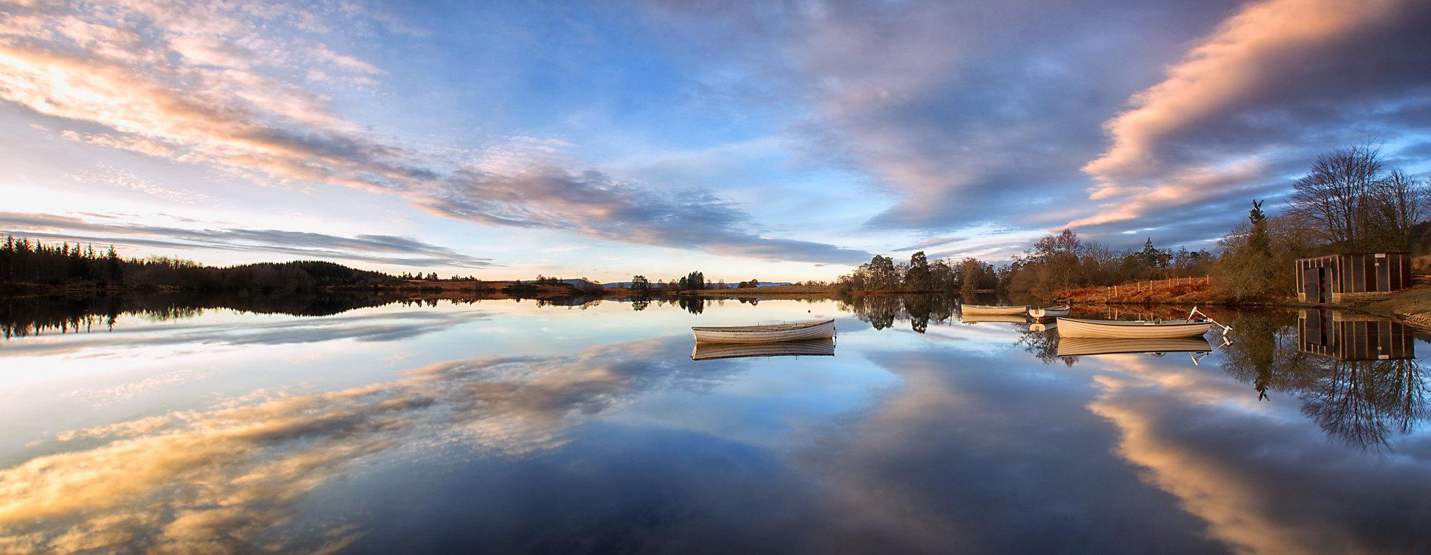 Loch an Rusgaidh, Trossachs, Scotland