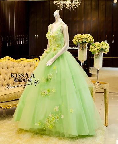 高雄推薦婚紗攝影-高雄kiss99麗緻婚紗告訴大家2015春季婚紗的流行趨勢 (5)