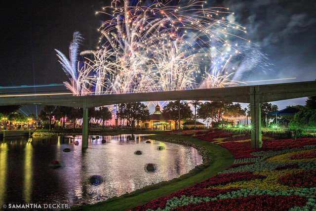 Fireworks + Monorail