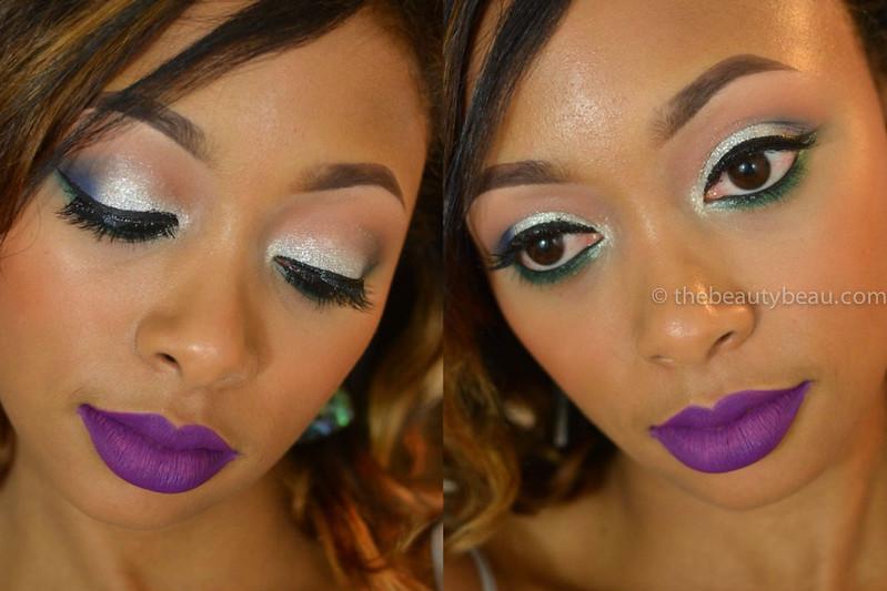 makeup tutorial using L.A. Splash Criminal Lip Couture