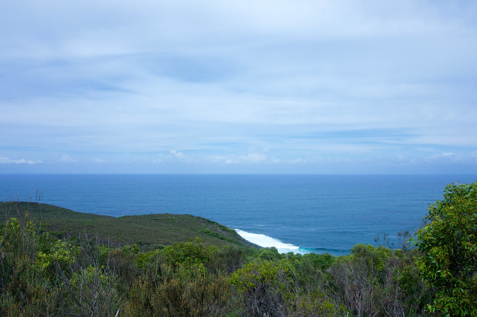 Pacific Ocean from Bouddi National Park