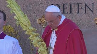 Hình ảnh Lễ Lá tại Vatican ngày 29/03/2015