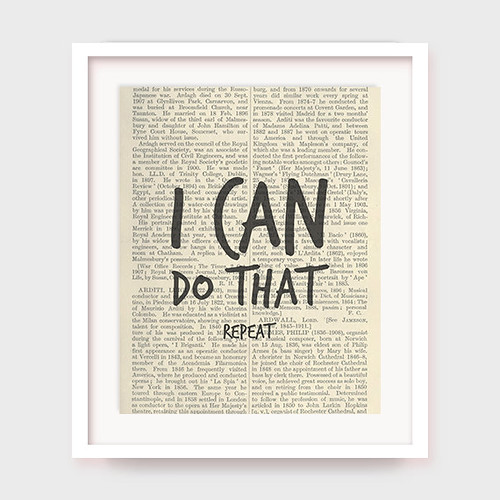 motivational poster i can do that motivational quote
