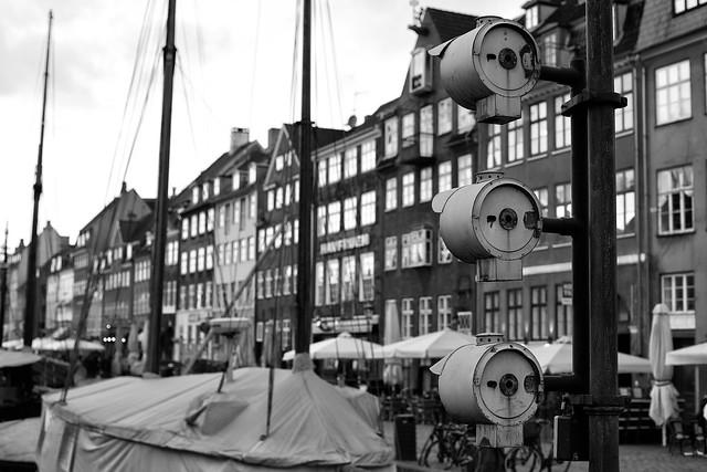 Nyhavn in Black and White