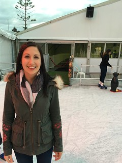 Ice skating in Freo