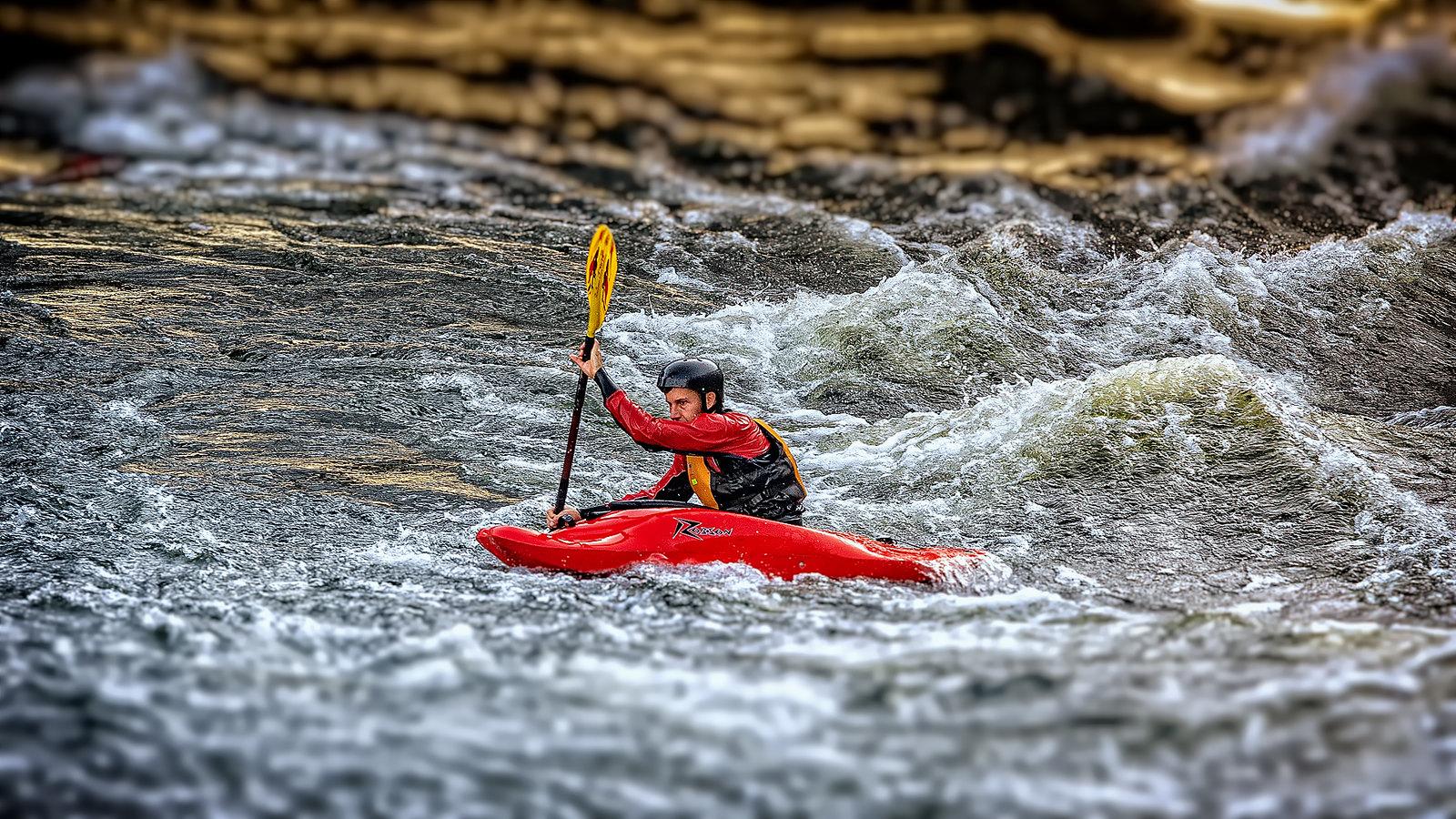 Whitewater Kayaking In Stockholm
