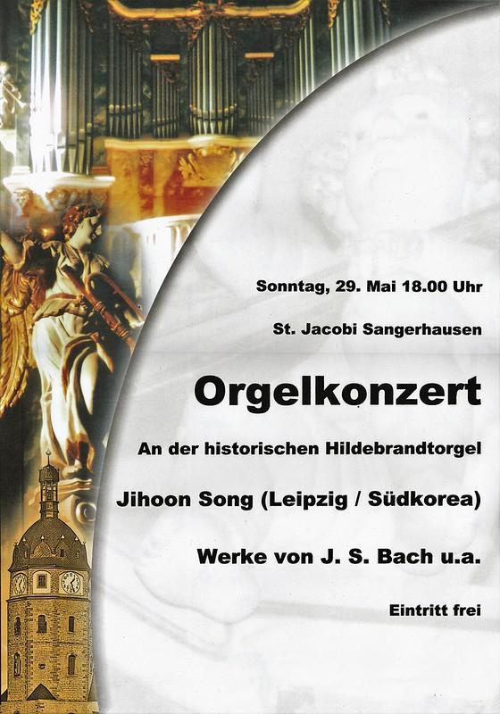 Hildebrandt-Orgel in der St. Jacobi-Kirche Sangerhausen