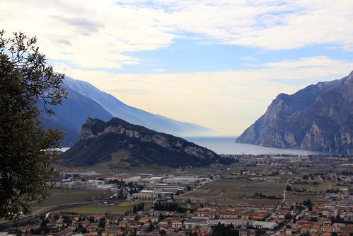 Il Lago di Garda dal Monte Colodri, Arco