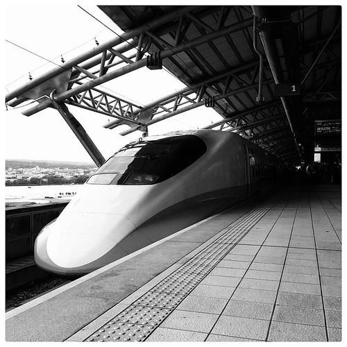 THSR. #taichung #taiwan #hsr #thsr #train #台灣 #台中 #高鐵