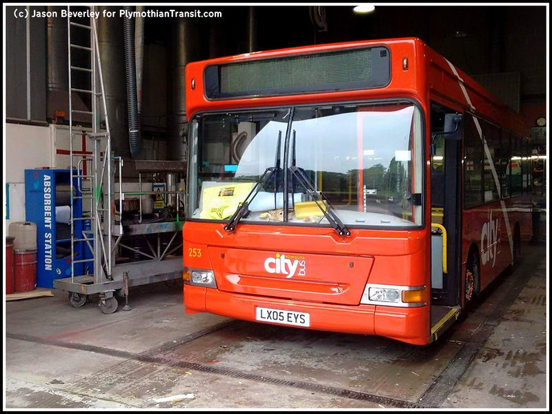 Plymouth Citybus 253