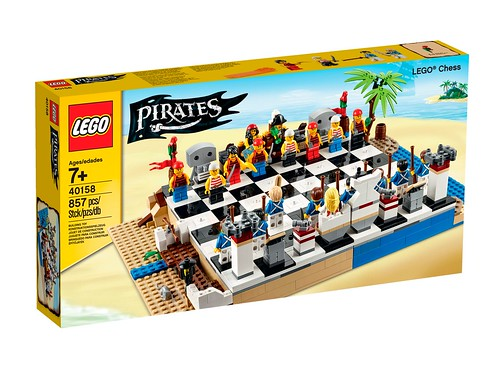 40158 LEGO Pirates Chess Set 02