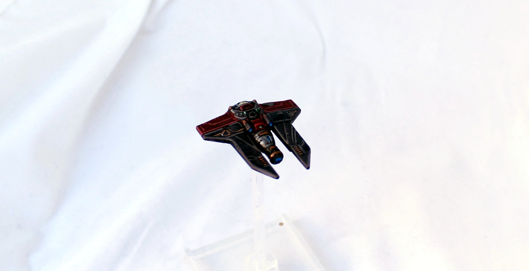 XWingMiniatures X-Wing Miniatures Scum and Villainy Repaint Scyk M3-A Interceptor Skull