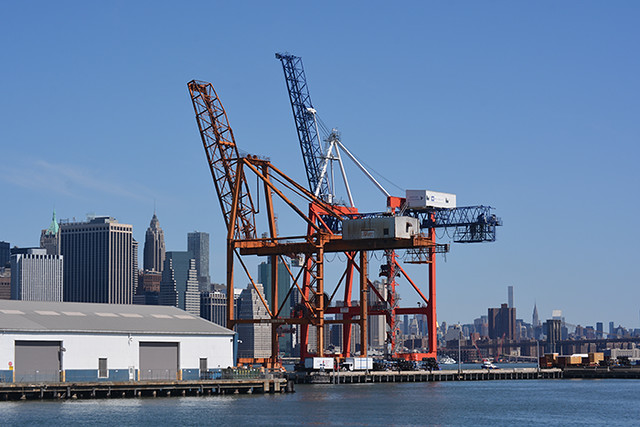 gantry cranes Red Hook