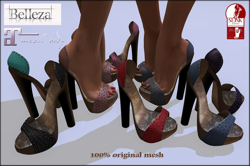 UPDATE!!! Crystall pumps also for Maitreya Feet!