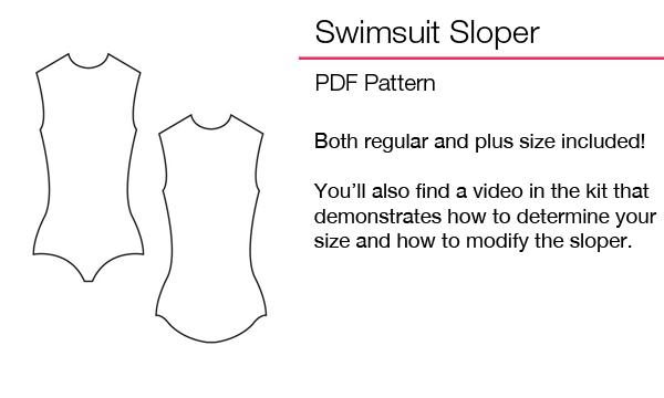 swimsuit sloper