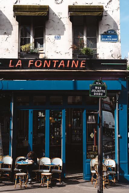 La Fontaine de Belleville, Paris