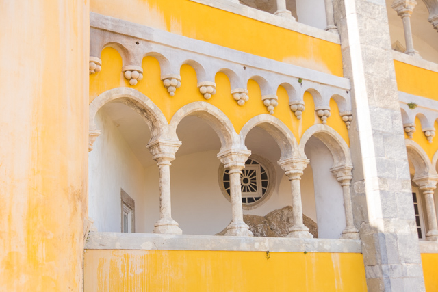 Visiting Pena Palace in Sintra, Portugal