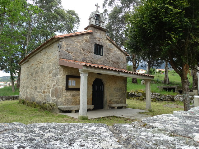 Capilla de San Caetano en Portosín