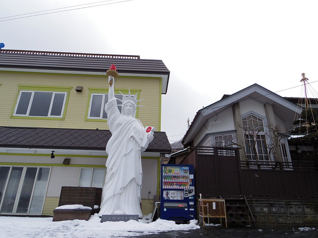 a statue in japan