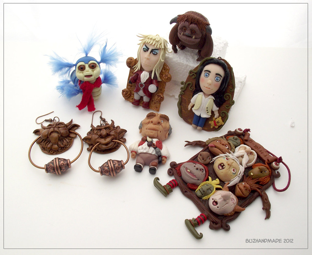 Labyrinth clay collection by buzhandmade