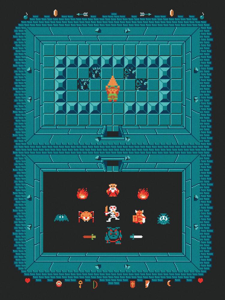 The Legend of Zelda by Harlan Elam