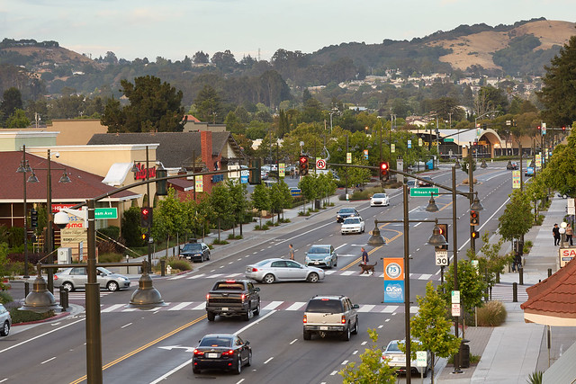 Castro Valley Streetscape