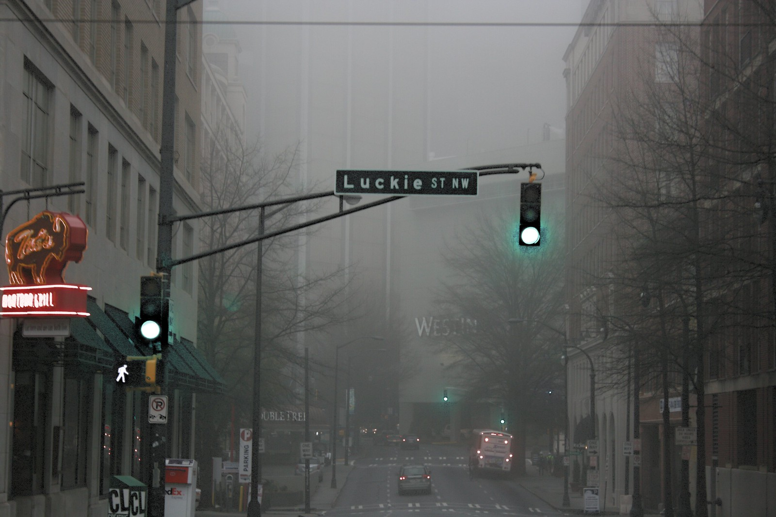Luckie Street, Downtown Atlanta, 2015