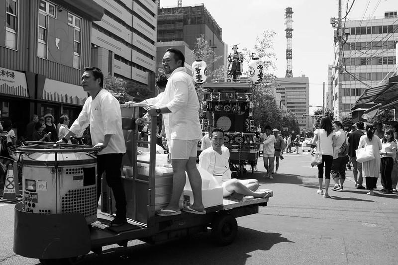 築地獅子祭 Tsukiji Shishi Matsuri