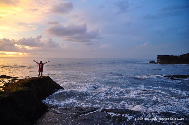 Waiting for the Sunset at Tanah Lot Temple Bali