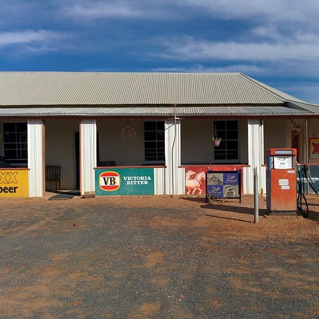 Welcome to Eromanga, QLD. Pop 400.
