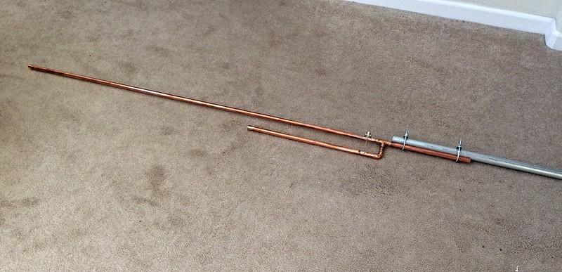 2-Meter J-Pole Antenna