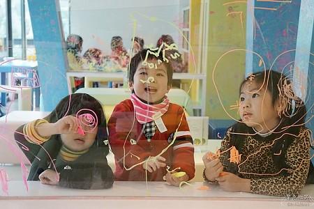 大嘴巴兒童餐廳~朱銘美術館,國寶級的藝術殿堂,小朋友的快樂天堂
