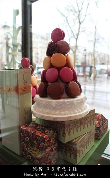 法国巴黎初体验-LADUREE餐厅,来法国必吃:少女的酥胸-马卡龙macaron
