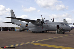 T21-07 3545 - S-012 - Spanish Air Force - CASA C-295M - Fairford RIAT 2015 - Steven Gray - IMG_3118