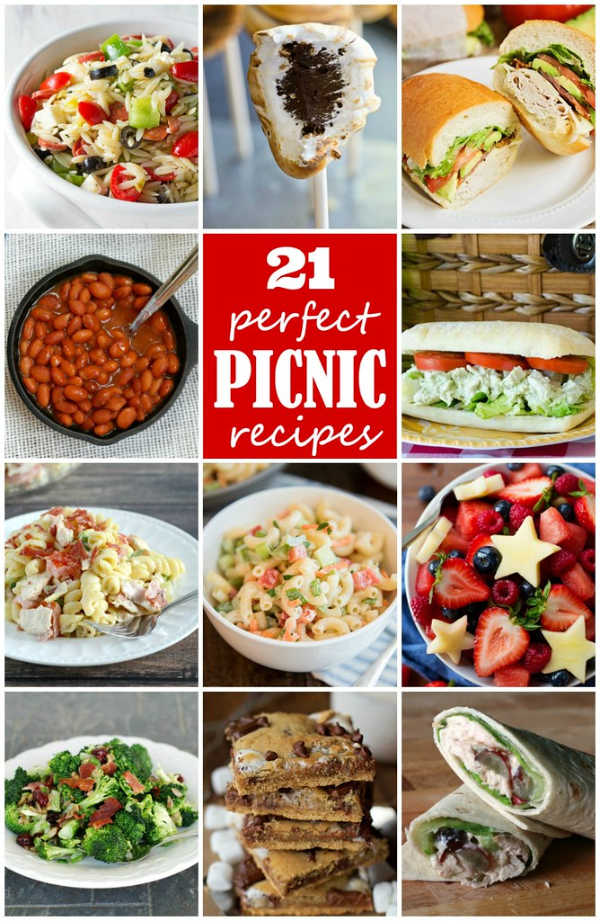 21 perfect picnic recipes