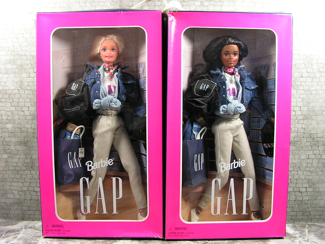 1996 Gap Barbie Collection