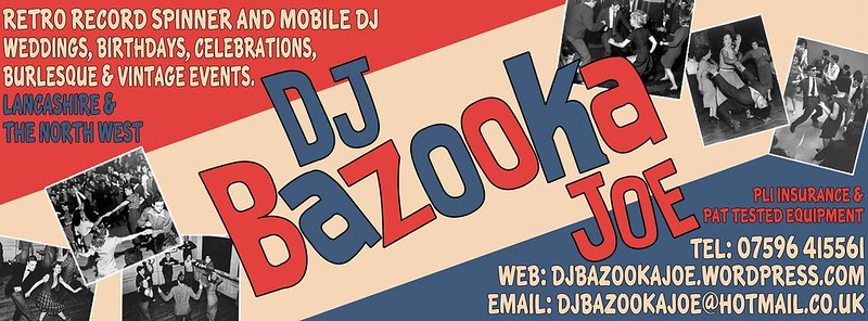 Killer Kitsch Designs Bazooka Joe DJ Banner