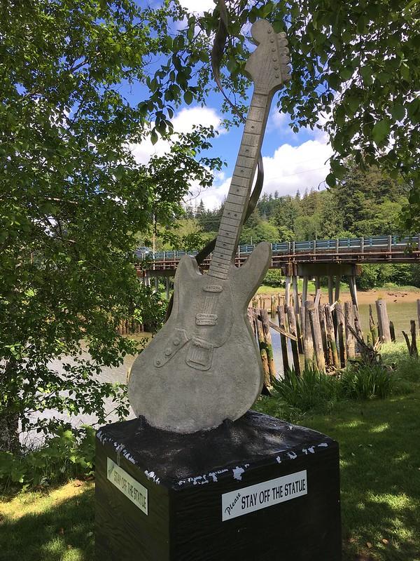 KC Memorial Guitar (Front)