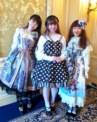 With Mari and Mariko