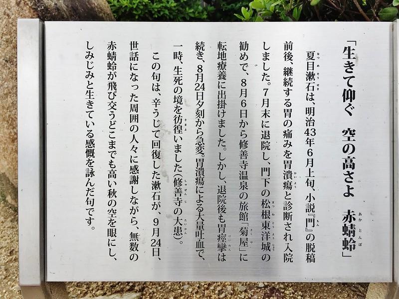 夏目漱石の碑 #6