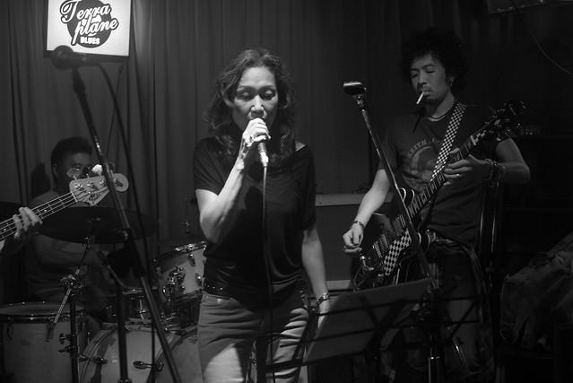 T.G.I.F. blues session at Terraplane, Tokyo, 08 Jul 2016 -00037