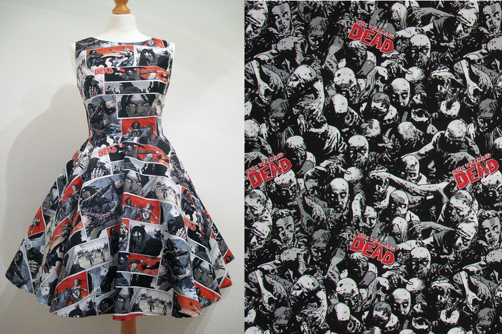 The Walking Dead Dress by Frockasaurus