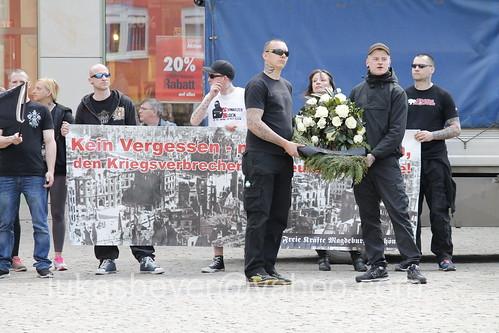 Neonaziaufmarsch in Halberstadt
