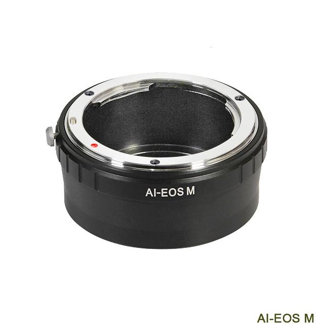 bague d 39 adaptation manuelle lens ring objectif nikon ai vers boitier canon eos m ebay. Black Bedroom Furniture Sets. Home Design Ideas