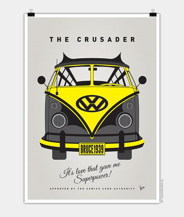 Volkswagen T1 superhero rides by Chungkong - Batman